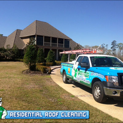 Another incredible Roof Cleaning performed by Green Tiger SoftWash
